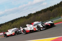 Toyota Gazoo Racing - Toyota TS050 - Hybrid vs. Porsche LMP Team - Porsche 919 Hybrid