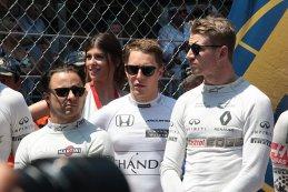 Felipe Massa, Stoffel Vandoorne & Nico Hülkenberg