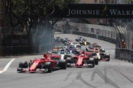 Start 2017 F1 Monaco GP