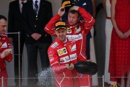 Sebastian Vettel, winnaar 2017 F1 Monaco GP