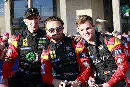 Rob Smith, Will Stevens en Dries Vanthoor