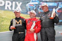 Podium 2017 Zolder Superprix GT & Prototype Challenge Divisie SR3 race 1