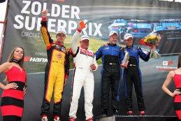 Podium 2017 Zolder Superprix GT & Prototype Challenge CN race 2