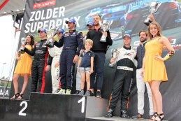 Podium 2017 TCR Benelux Zolder Superprix Race 4