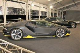 Lamborghini Centenario LP 770 4 Black Car