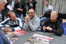 Dave Van de Velde, Michael Roskam en Tom de Mul