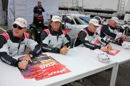 Pierre-Yves Paque, Luc Moortgat, Patrick Zeeuws en Dieter Kuijl