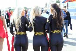 Comparex Racing grid girls