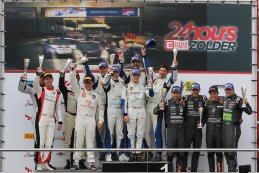 Podium Belcar 1 2017 24 Hours of Zolder