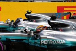 Valtteri Bottas en Lewis Hamilton - Mercedes