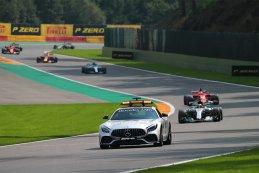 Safety Car F1 2017 GP België
