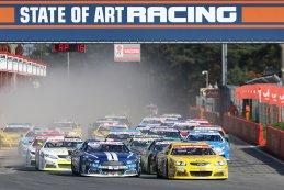 Start American Finals Zolder NASCAR Whelen Euro Series Elite 1 Race 1