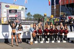 Podiumceremonie Nascer Whelen Euro Series Elite 2 race 2