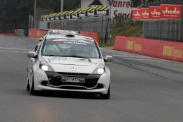 Angélique Charlier/Laurent Simon/O Aerts - Renault Clio III Cup