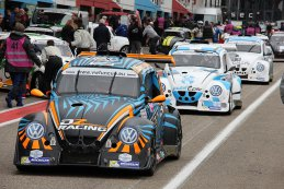 VW Fun Cup: The Final Race pitlane