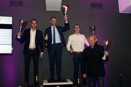 Algemeen Podium 2017 Porsche GT3 Cup Challenge Benelux