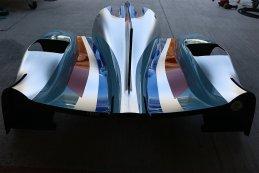 United Autosports - Ligier JS P3 motorkap