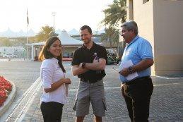 Beatriz Neto - Nico Verdonck - Rafael Calafell (Team manager Lambda Performance)