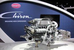 Motor Bugatti Chiron