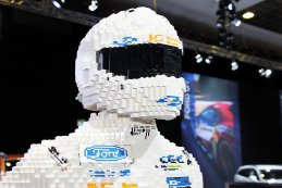 Ford-piloot in Lego