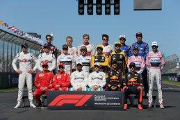 Piloten 2018 F1 GP van Australië