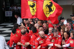 Mecaniciëns Scuderia Ferrari