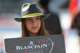Grid girl 2018 Blancpain GT Sprint Cup Zolder