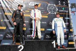 Podium GT4 Belgium Cup Zolder Race 2