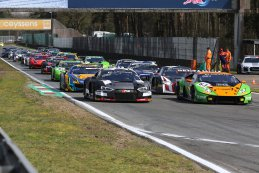 Start 2018 Blancpain GT Sprint Cup Zolder Race 2
