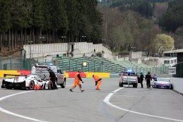 Aanrijding tussen BE Motorsport en DVB Racing