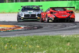 Bentley Team M-Sport vs. Kessel Racing - Bentley Continental GT3 vs. Ferrari 488 GT3