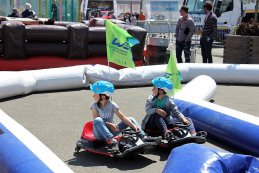 Kinderkarting in Fan Zone