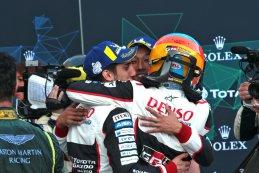 Sébastien Buemi/Kazuki Nakajima/Fernando Alonso - Winnaars 2018 FIA WEC 6 Hours of Spa