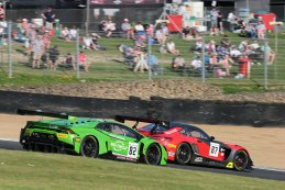GRT Grasser Racing Team vs. AKKA ASP - Lamborghini Huracan GT3 vs. Mercedes-AMG GT3
