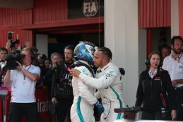 Valtteri Bottas & Lewis Hamilton