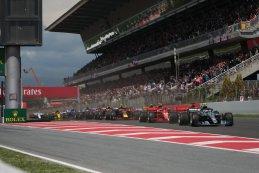 Start 2018 F1 GP van Spanje