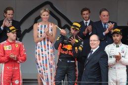 Podium 2018 F1 GP van Monaco