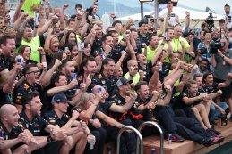 Sfeerbeeld Red Bull Racing