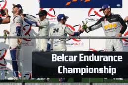 Podium 2018 Spa Euro Race Belcar 1