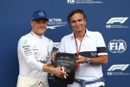 Valtteri Bottas en Nelson Piquet