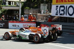 Adrian Sutil vs. Fernando Alonso