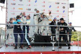2018 Eleven Sports 24 Hours of Zolder podium Klasse 5