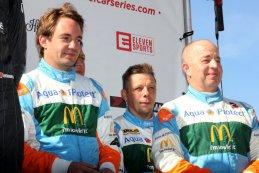 Frédéric Vervisch, Kris Cools en François Bouillon
