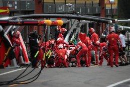 Pitstop Sebastian Vettel - Ferrari