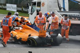 Crash Fernando Alonso
