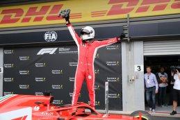 Sebastian Vettel, winnaar 2018 F1 Grote Prijs van België