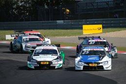 Mike Rockenfeller (Audi) & Philipp Eng (BMW Team RBM)