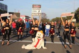 American Festival: De randanimatie en pitwalk in beeld gebracht