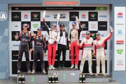 Eindpodium WRC Rally Australië