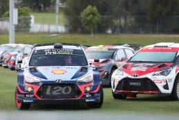 Parc fermé WRC Rally Australië